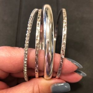 Jewelry - Silver Bangles